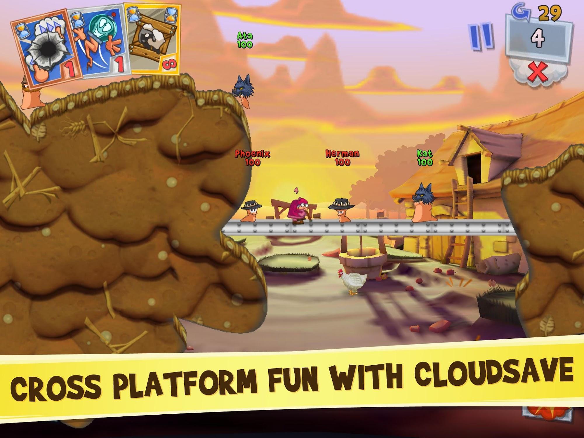 Worms 3 screenshot #4