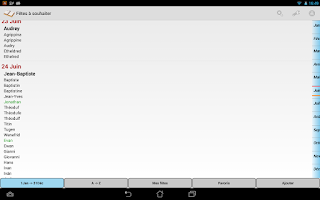 Screenshot of Fêtes à souhaiter Lite