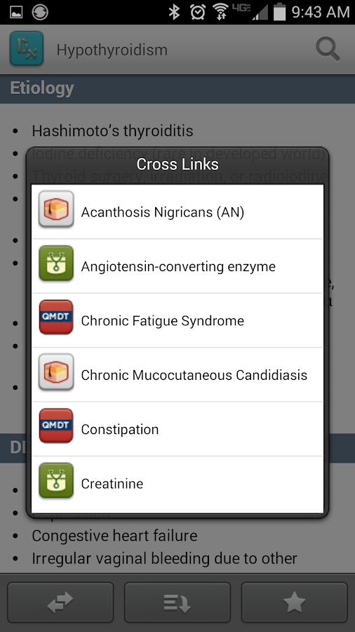 AccessMedicine App - screenshot