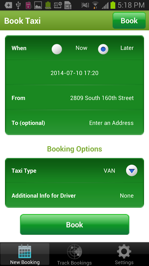 STITA Taxi- screenshot