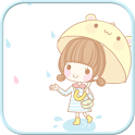 Dasom Rain SMS Theme icon