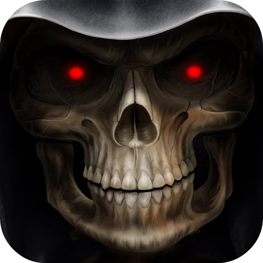 Skull 3D Live Wallpaper Icon