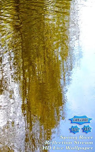 Shine River Reflection Stream