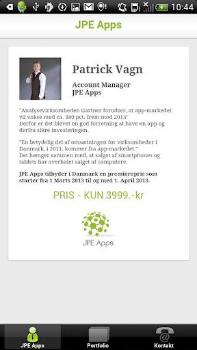 Patrick Vagn - JPE Apps