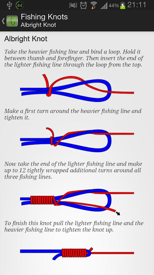 Fishing Knots - screenshot