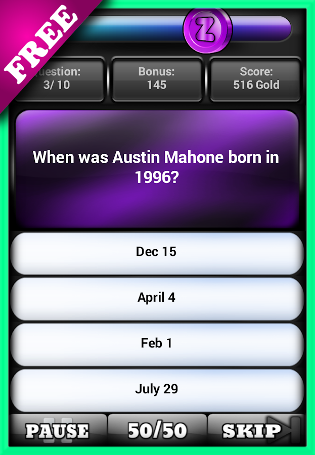 Fan pop quiz austin facts android apps on google play