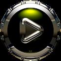 Poweramp skin Triada icon