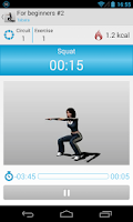 Screenshot of Circuit Training Assistant