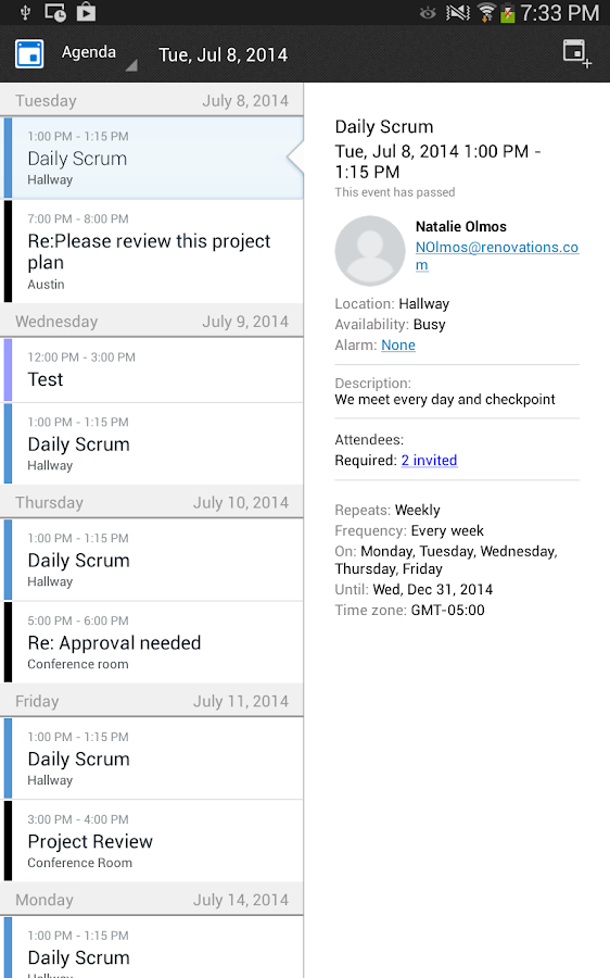 how to add lotus notes to android