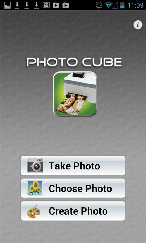 Photo Cube!- screenshot