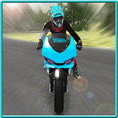 Racing Motorcycle Ride