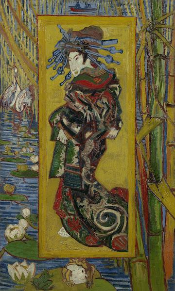 Vincent van Gogh, A Cortesã (depois de Eisen), 1887