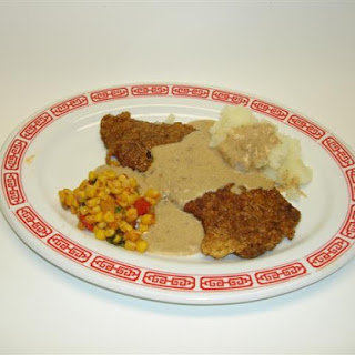 Texas-Style Chicken Fried Steak with Cream Gravy.