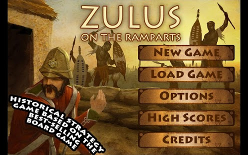 Zulus on the Ramparts! - screenshot thumbnail