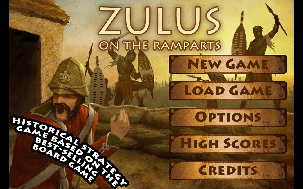 Zulus on the Ramparts! - screenshot