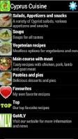 Screenshot of Cyprus Cuisine