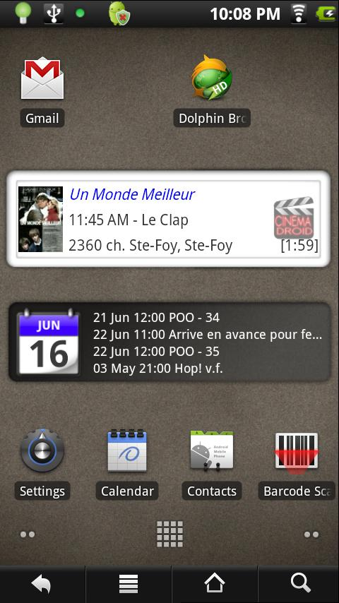 Cinemadroid Full - screenshot