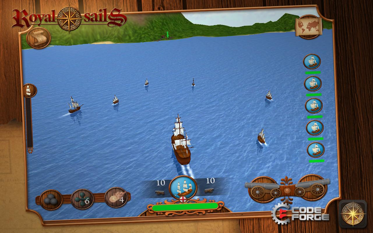 Royal Sails - screenshot
