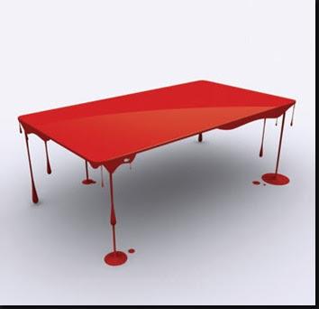 oroo oro 39 o une table qui fait t che de peinture. Black Bedroom Furniture Sets. Home Design Ideas