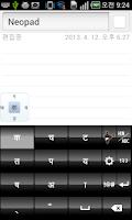Screenshot of Neopad Hinglish & Hindi