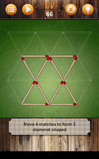 Battle Matchstick Puzzle- screenshot thumbnail