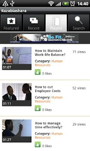 Kuza Biashara - SME Guru- screenshot thumbnail