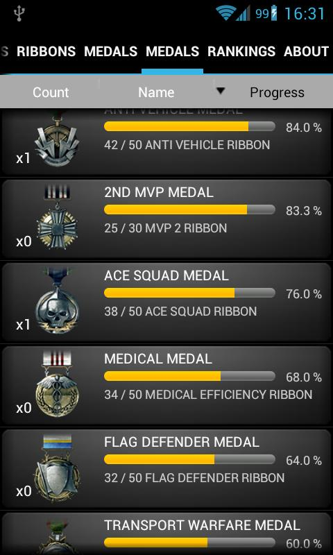 BF3 Stats- screenshot