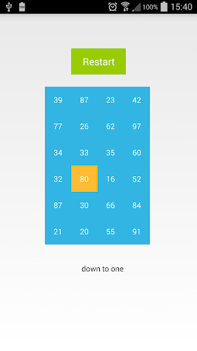 Down to One Puzzle Game Free