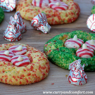 Hershey's Candy Cane Cookies