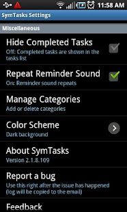 SymTasks - Outlook Tasks Sync - screenshot thumbnail