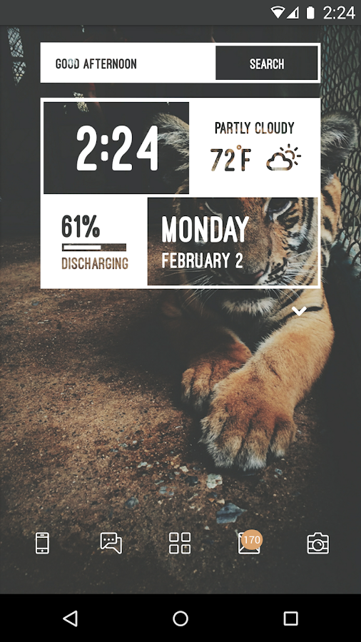 Zooper Widget Pro- screenshot