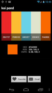 Color Pal- screenshot thumbnail