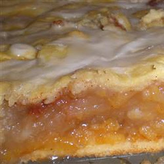 Danish Pastry Apple Bars II Recipe