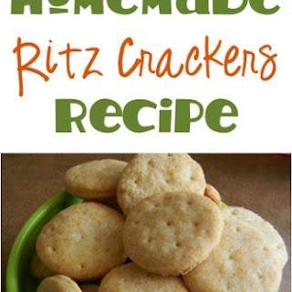 Butter Crackers or Homemade Ritz