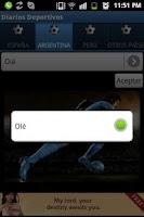 Screenshot of Diarios Deportivos