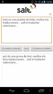 Salt - Traductor Valenciano - screenshot thumbnail