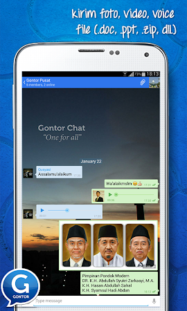 Gontor Chat 0.1 screenshot 1962626