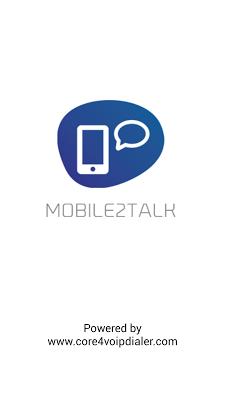 Mobile2Talk - screenshot