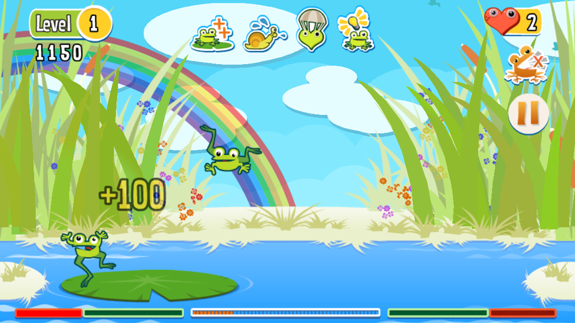 The Froggies Game - screenshot