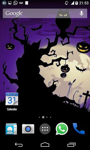 Halloween HD Live Wallpaper 5