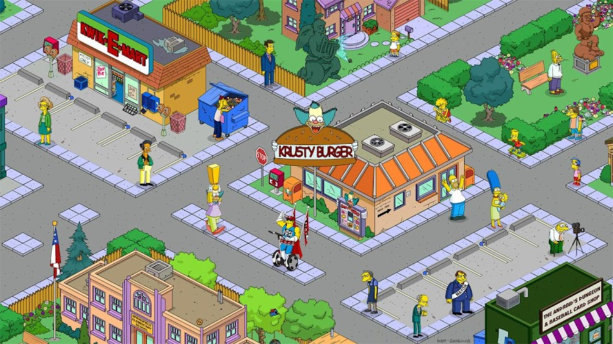 The Simpsons Tapped Out v4.15.5 APK Mod (Unlimited Money/Donuts/XP) - screenshot