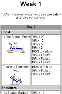 Intermediate Workout- screenshot thumbnail