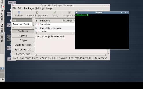 Debian noroot - screenshot thumbnail