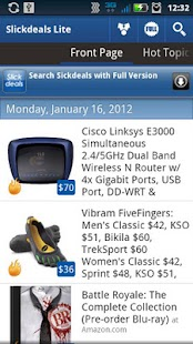 SlickDeals Reader Lite - screenshot thumbnail