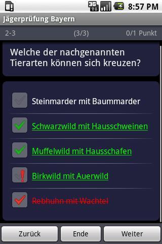 German Hunter's Exam Training- screenshot
