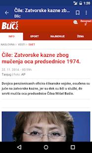 Srbija Vesti - screenshot thumbnail