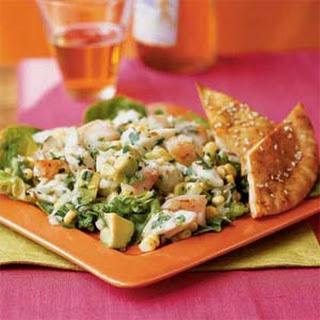 Coconut Crab and Shrimp Salad.