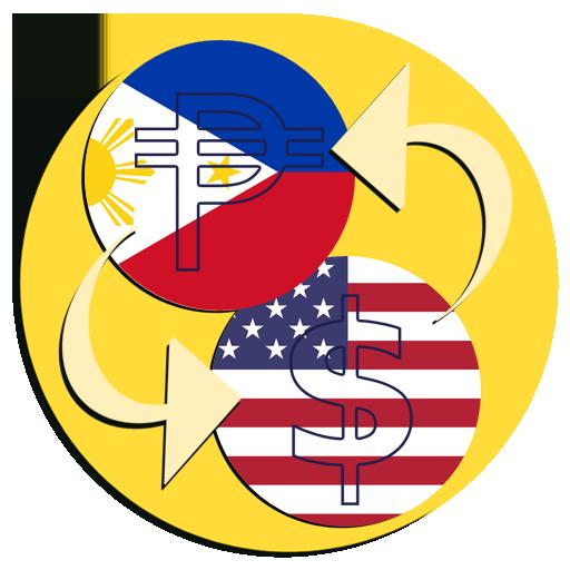Dollar Philippine Peso Convert Icon