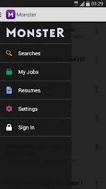 Monster Job Search Screenshot 2