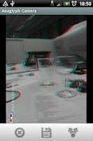 Screenshot of Anaglyph 3D Camera